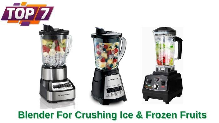 Blender For Crushing Ice & Frozen Fruits