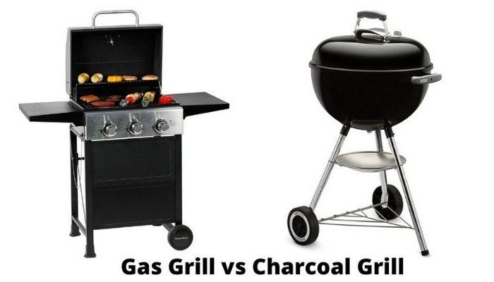 Charcoal Grill vs Gas Grill Comparison