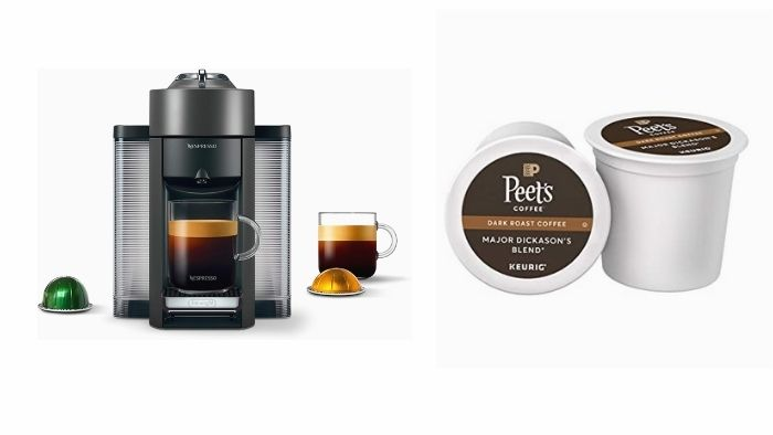 Keurig cups be used in a Nespresso coffee maker