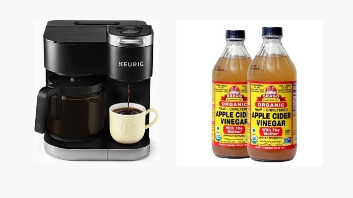 apple cider vinegar to clean my coffee maker