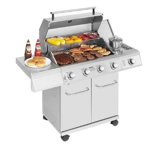 Monument Grills 4-Burner Propane Gas Grill